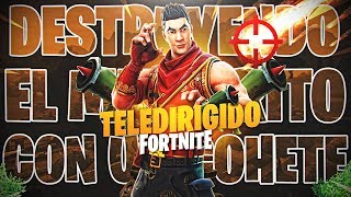 😱😱DETUNTITM(COMETA) OF FORTNITE battle royale WITH RPG, will we achieve it?😱😱