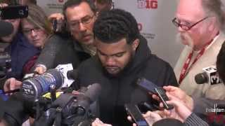 Postgame press conference: Michigan State v. Ohio State (11-21-2015)