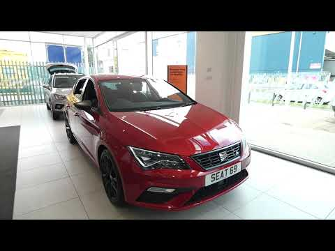 New SEAT Leon FR Black Edition For Sale | Crewe SEAT