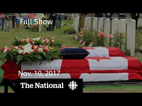 The National for November 10, 2017 - Peacekeeping, ethics, and sexual misconduct