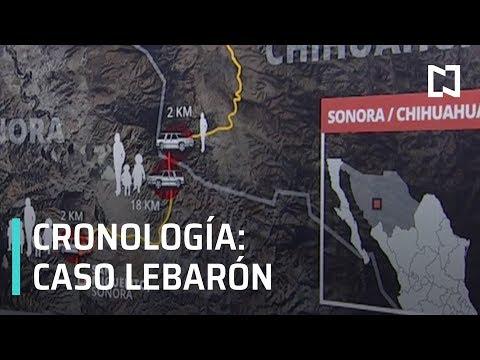 Masacre a la familia LeBarón, cronología de los hechos - Despierta