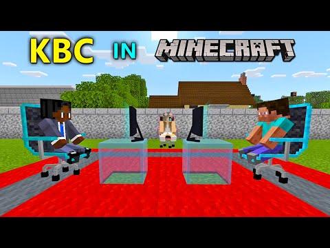 KBC in MINECRAFT   MineCraft Funny Short Film By Bollywood Gamerz