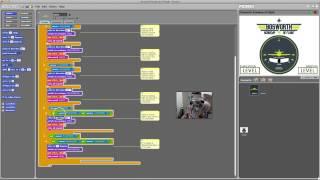 Picoboard Experiment 02 - Turn Coordinator (tilt sensor)