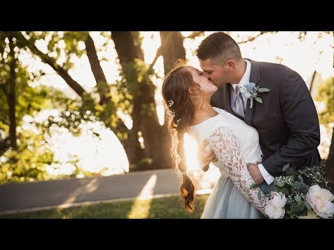 They started dating when they were 13 and have the SWEETEST VOWS 😀 Dresser Mansion Wedding Video