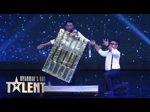 Master of Mystery: Semi-Final 2   Myanmars Got Talent 2018