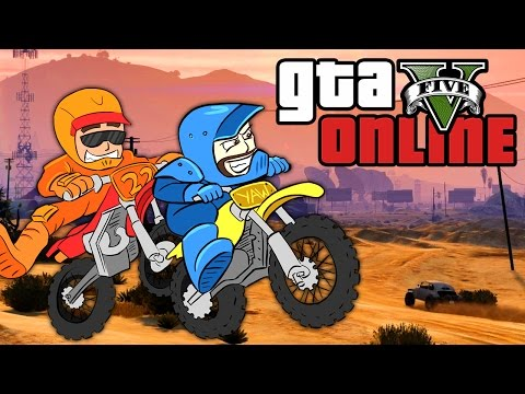 GTA 5 Online ★ DIRT BIKE BANDITS (Dumb & Dumber)