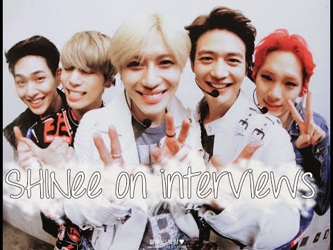 [ENG SUB] When SHINee can't avoid being themselves on interviews