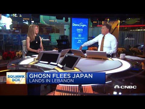 Carlos Ghosn flees house arrest in Japan, lands in Lebanon