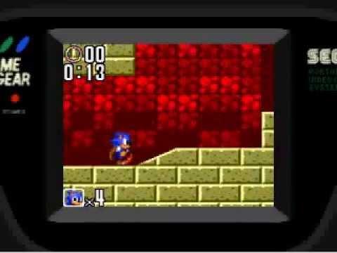 Sonic The Hedgehog 2 Sega Game Gear Gameplay Youtube