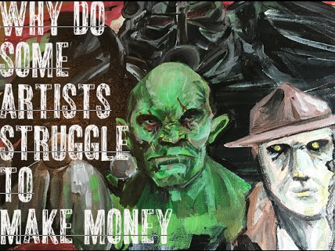 Why some artists struggle to make money  - support other artists 2016