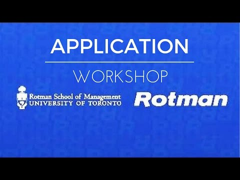 Rotman Commerce Application Workshop 2016