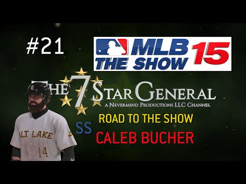 MLB 15 Road to the Show Career: Caleb Bucher SS #21