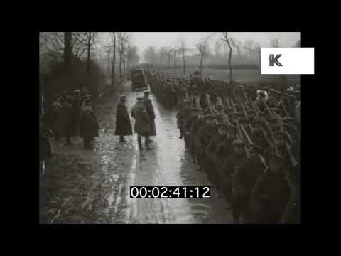 1910s Lord Kitchener Surveys Troops | Kinolibrary
