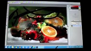 Photoshop на планшете Windows 8.1 Pipo W3
