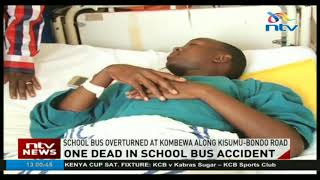 Rapogi secondary school student dies in accident after school bus overturns