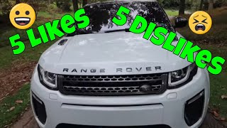 5 Things I Love And Hate About The 2018 Range Rover Evoque