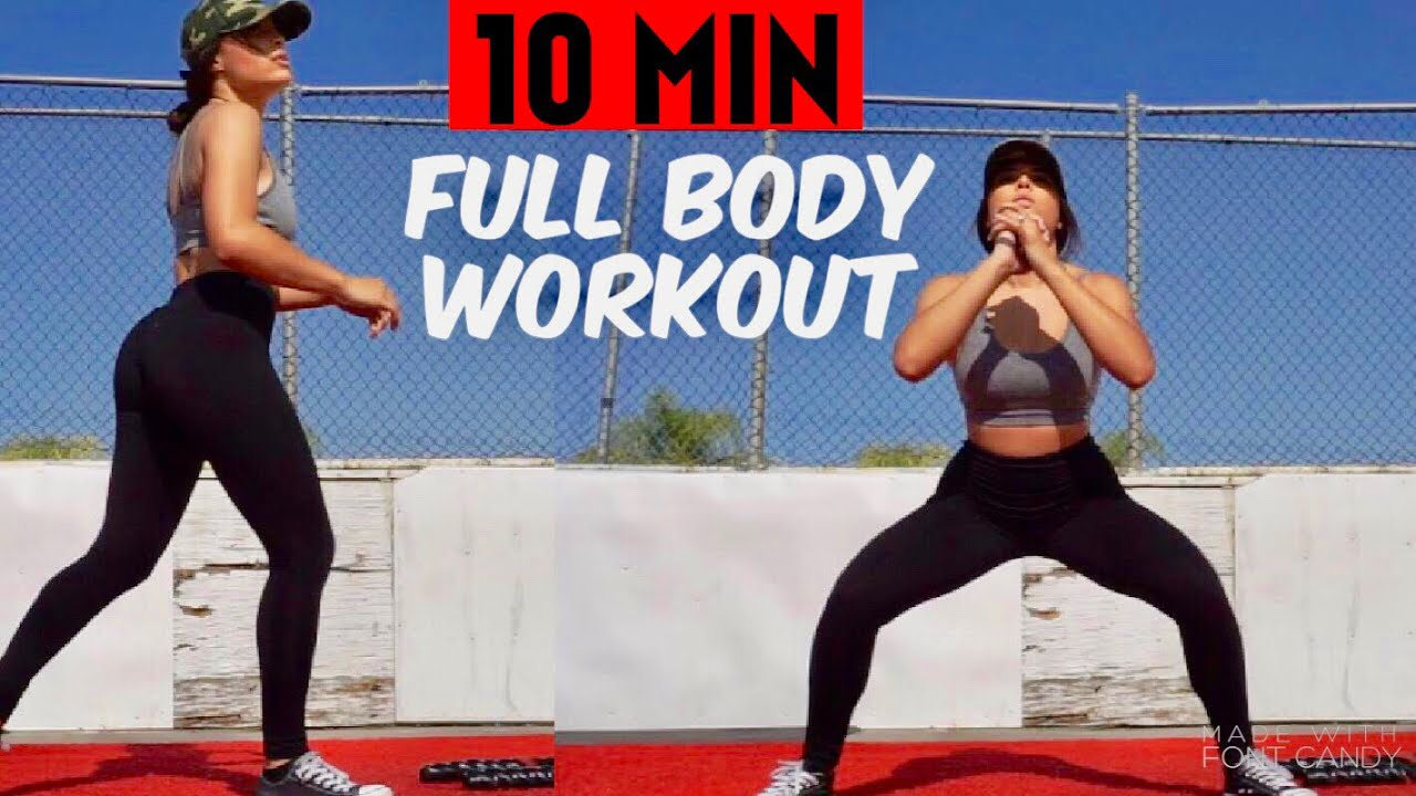 QUICK FULL BODY WORKOUT HOME OR GYM  NO EQUIPMENT