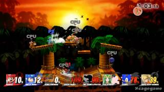 Super Smash Bros. Wii U - Kongo Jungle 64 Gameplay [ HD ]