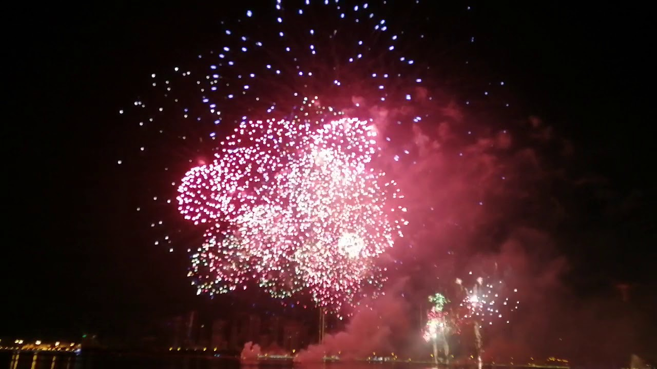 Sharjah fireworks 2020 New Year - YouTube