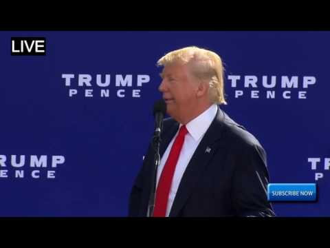 Donald Trump a VERY PRESIDENTIAL Speech in New Hampshire HD