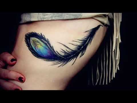 Peacock Feather Tattoo Designs for Back