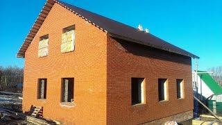 видео Проекты домов и коттеджей Уфа - Строительство домов из пеноблоков