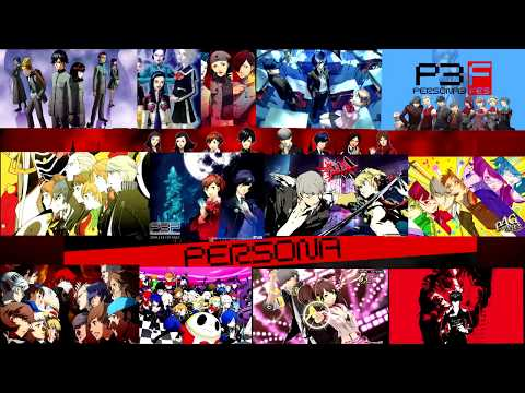 All Persona Opening/Intro Songs (2015) - Interactive