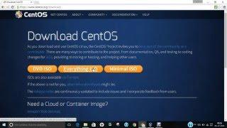 видео Установка CentOS 7