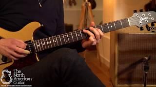 Deimel Guitarworks Doublestar RawTone Electric Guitar Played By Stuart Ryan (Part Two)