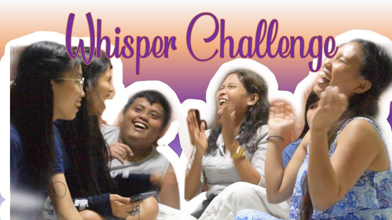 Whisper Challenge with Jim   Zoella   Fun youtube ...   Whisper Challenge Ideas