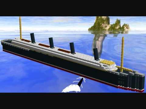 R.M.S. Lusitania (lego...