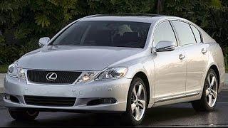 2008 Lexus GS350 Start Up, Road Test, & Review 3.5 L V6