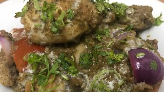 chicken afghani with gravy | how to make chicken afghani gravy | chicken afghani gravy recipe