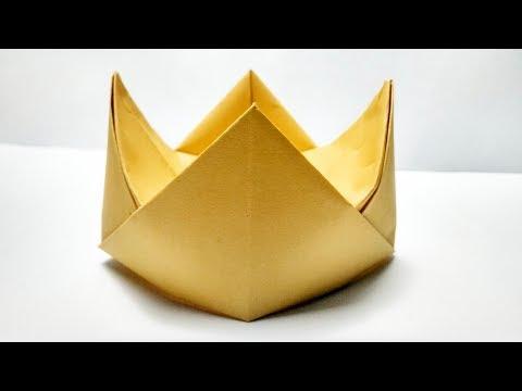 Paper Crown tutorial || How to make Easy Paper Crown - Easy Paper Crafts