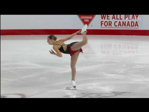 Michelle Long 2018 Canadian Tire National Skating Championships - SP