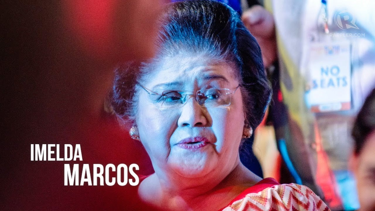 FAST FACTS: Imelda Marcos, the 'Iron Butterfly'