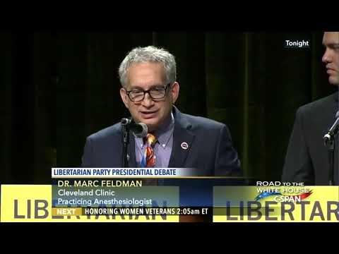 Libertarian Debate - Driver's Licenses (Extended)