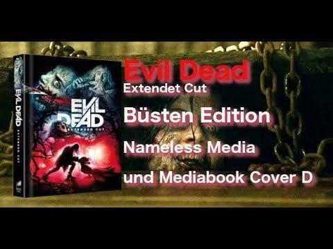 Evil Dead Büsten-Edition Nameless Media und Mediabook Cover D