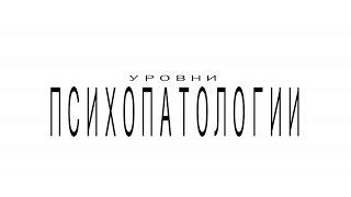 Уровни Психопатологии  лекция Михаила Кокорина. ИИПП