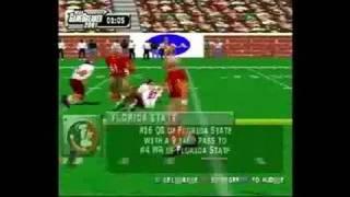 NCAA GameBreaker 2001 PlayStation Gameplay_2000_08_08_1