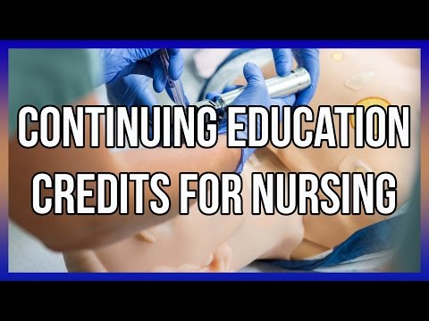 Continuing Education Credits For Nursing