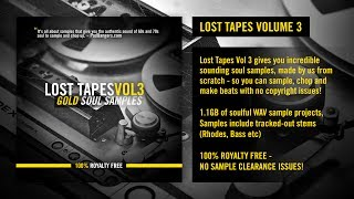 Lost Tapes Vol 3: Gold Soul Samples