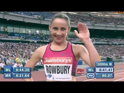 Rowbury wins 3000m with leading time - Universal Sports