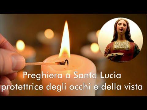 Preghiera a Santa Lucia, protettrice degli occhi e della vista.