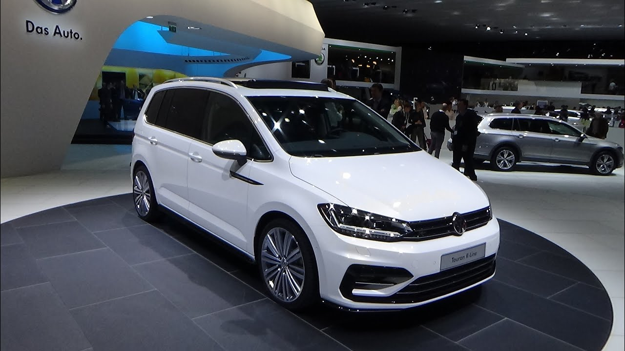 2016 volkswagen touran r line exterior and interior geneva motor show 2015 youtube. Black Bedroom Furniture Sets. Home Design Ideas