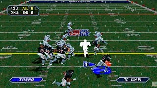 NFL Blitz - PS1 Gameplay (1080p60fps)