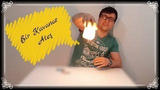 Bir Kavanoz Ateş Deneyi (Çakmak Taşı Yakma)