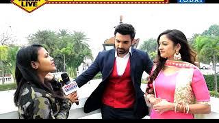 exclusive interview of arjit taneja aand aditi sharma at livetoday