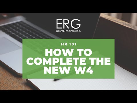 How to complete new 2020 form W - 4
