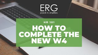 How to complete new 2020 form W-4